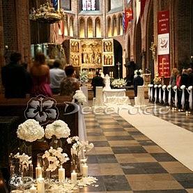 Hortensje w Katedrze Poznańskiej