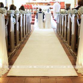 Ślubna dekoracja kościoła na Morasku – Kościół Ścięcia św. Jana Chrzciciela