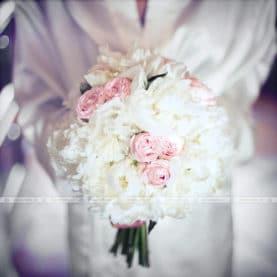 Delikatny bukiet ślubny