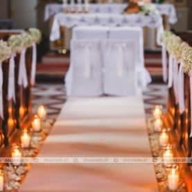 Dekoracja kościoła w Stęszewie