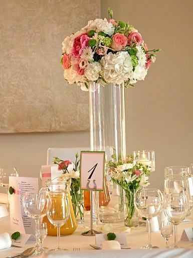 Eleganckie połączenie – kwiaty, szkło, świece – Hotel Remes