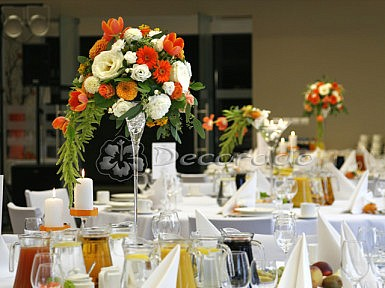 Hotel Barczyzna – kolorowa dekoracja ślubna